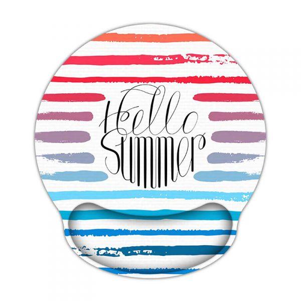Huado ergonomická podložka pod myš Hello Summer