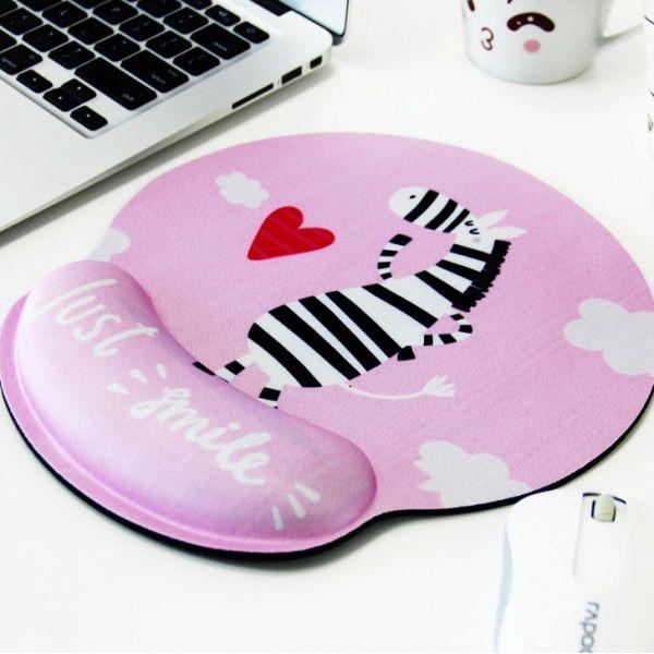 Huado ergonomická podložka pod myš Zebra Smile