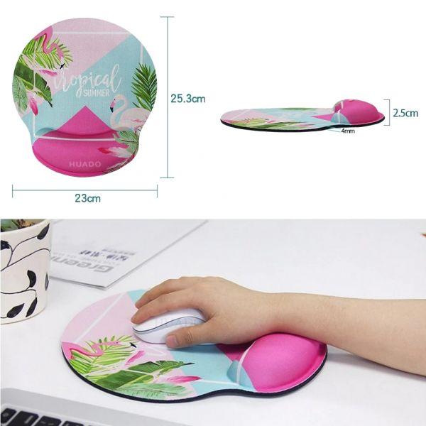 Huado ergonomická podložka pod myš Kocour s brýlemi