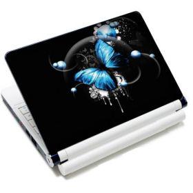 "Samolepka, skin Huado pro notebook 12""-15,6"" Modrý motýl"