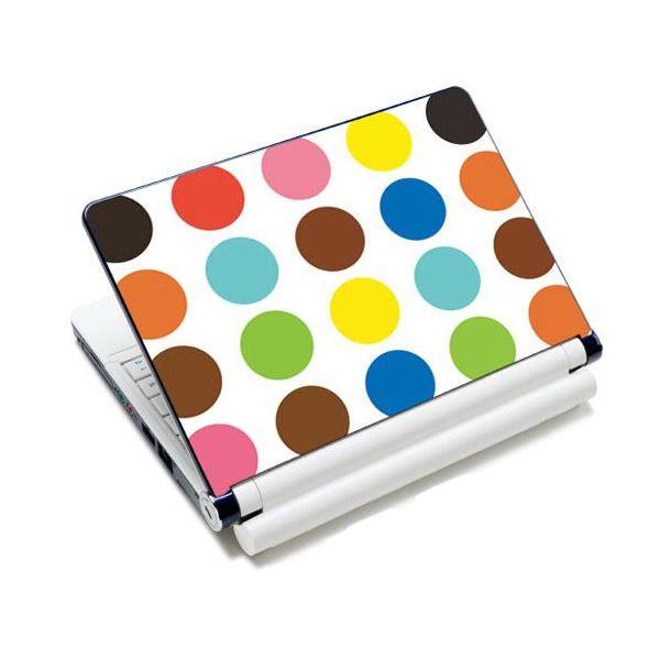 "Samolepka, skin Huado pro notebook 12""-15,6"" Polka dots"