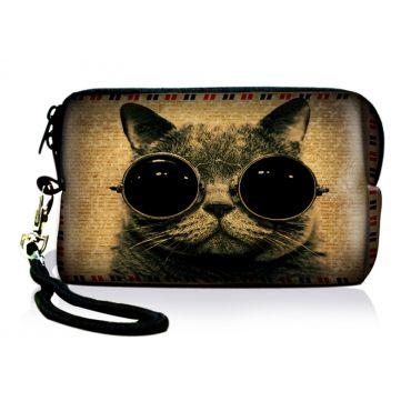 Huado pouzdro pro fotoaparát Kočka s brýlemi