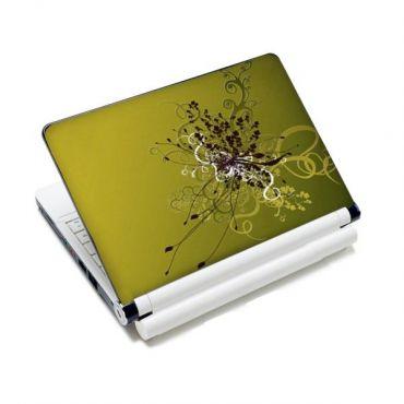 """Samolepka, skin Huado pro notebook 12""""-15,6"""" Zelený rozkvět"""
