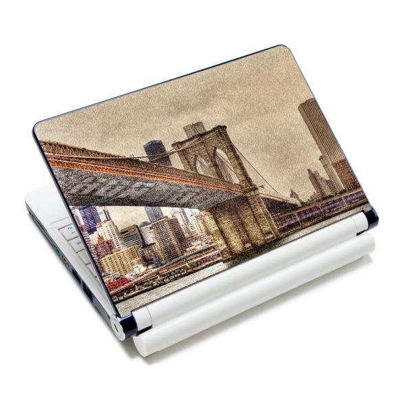 """Samolepka, skin Huado pro notebook 12""""-15,6"""" Brooklynský most"""