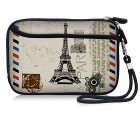 Pouzdro a peněženka Huado na mobil Paríž