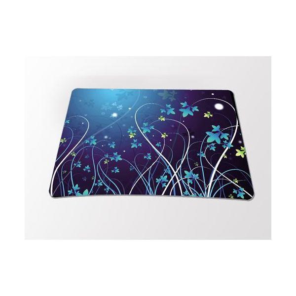 Podložka pod myš Huado- Modré květy