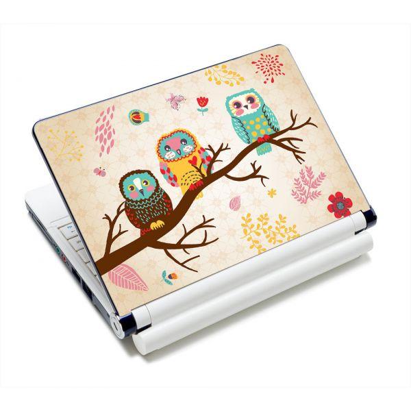 """Samolepka, skin Huado pro notebook 12""""-15,6"""" Sovy na stromě"""