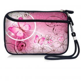 Huado pouzdro na mobil Růžový motýl